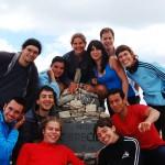 El grupo en el Torrecilla