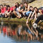 Lagunillo Misterioso en Sierra Nevada, Cabecera del Río Dílar