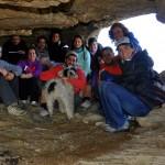 En la cueva bajo el Pico del Convento