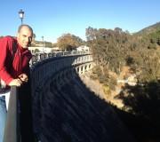 Pablo en la presa